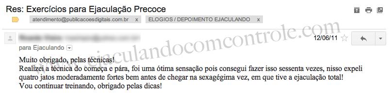 Pessoa curada ejaculação precoce - www.ejaculandocomcontrole.com