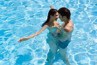 Transa na piscina
